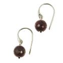 Medina Ruby earrings