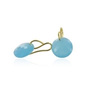 Leo Aqua earrings
