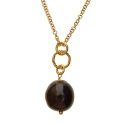 Purple Brass necklace