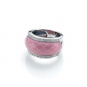 Infinity Porcelain ring (Pink)