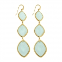 Chalcedony Cocktail Drop Earrings