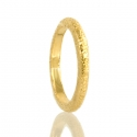 Gold Shimmer Stacking Ring