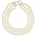 Three Row Cultura Pearl Necklace