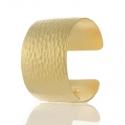 Gold Textured Cuff