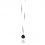 Medina Onyx necklace by Monica Vinader