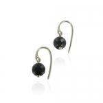 Medina Onyx earrings by Monica Vinader