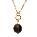 Purple Brass necklace