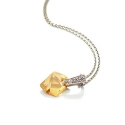 Faceted Rock Necklace