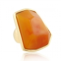 Amber Nugget Ring