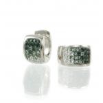 Glitter Chameleon Earrings by Babette Wasserman