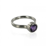 Candy Amethyst ring by Monica Vinader