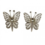 Filigree Butterfly earrings by Mirabelle