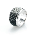 Glitter Chameleon Ring by Babette Wasserman