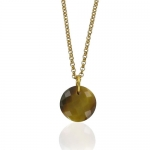 Leo Tigers Eye necklace by Monica Vinader
