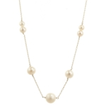 Silver Pearl Necklace by Melissa McArthur