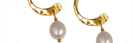 Pearl Earrings at Joots Jewellery